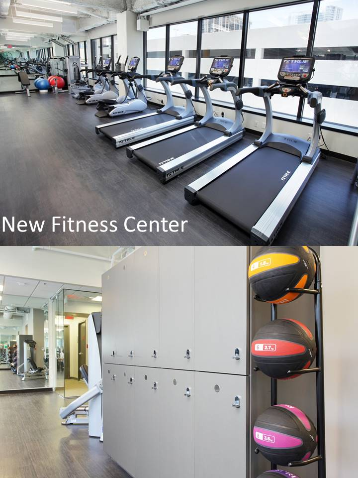 Morgan Stanley Tower Fitness Center