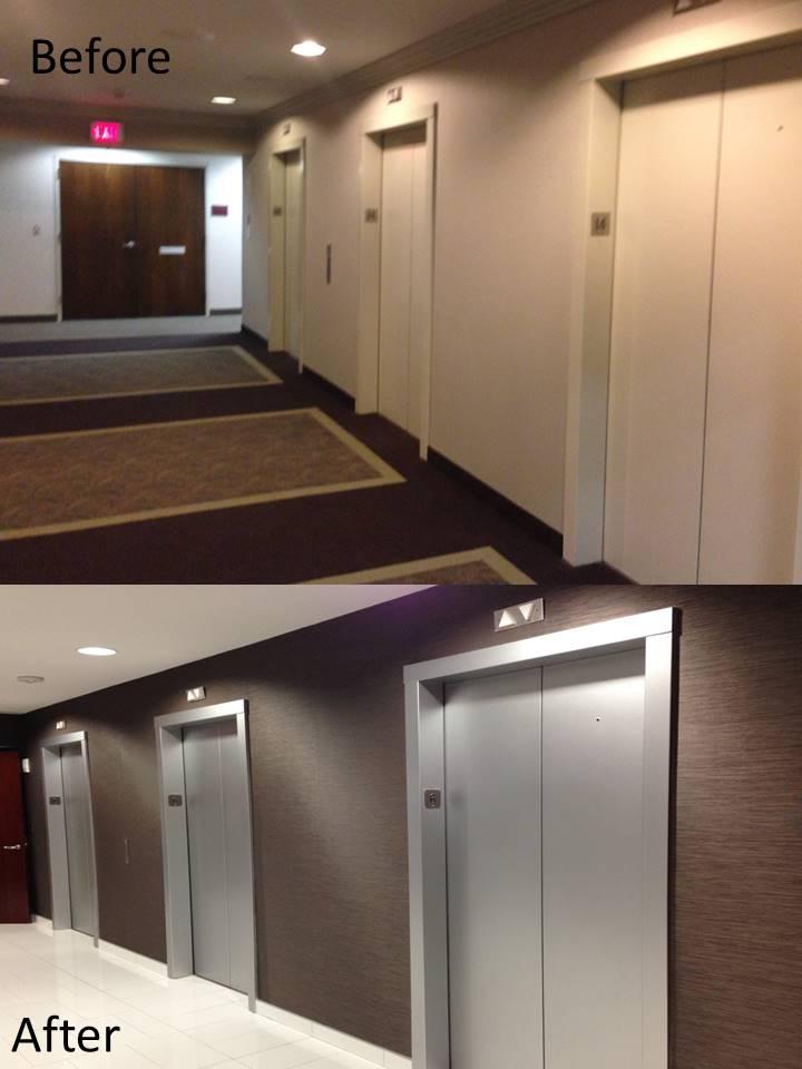 Morgan Stanley Tower Tenant Elevator Lobby