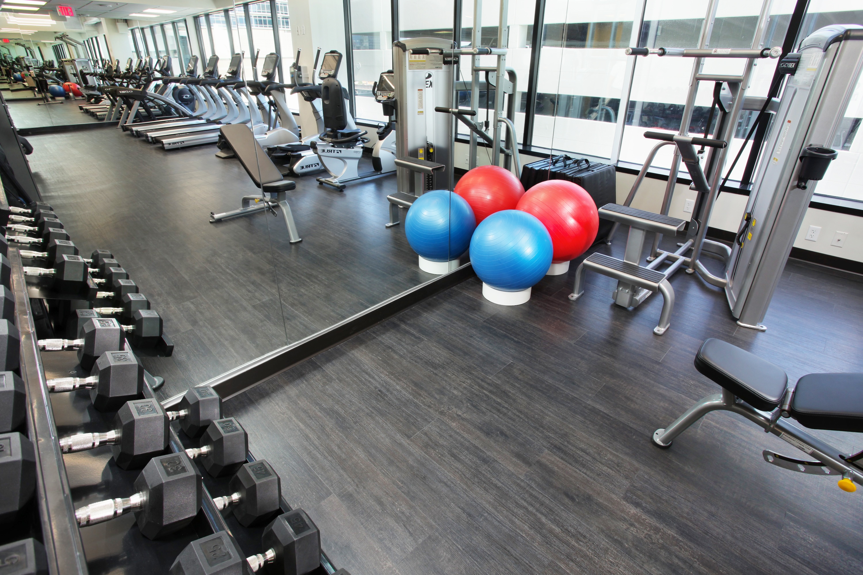Morgan Stanley Tower Fitness Center | Morgan Stanley Tower
